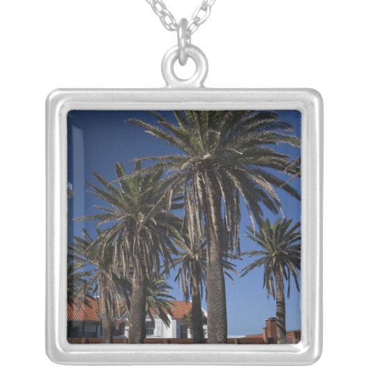 Uruguay, Maldonado Department, Punta del Este. 2 Silver Plated Necklace