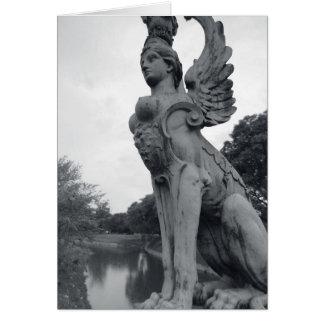 Uruguay, Montevideo, Barrio Prado, mythological Card