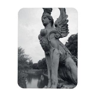 Uruguay, Montevideo, Barrio Prado, mythological Rectangular Photo Magnet
