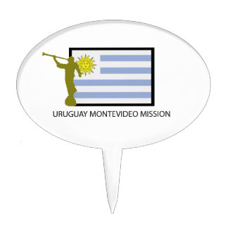 URUGUAY MONTEVIDEO LDS CTR CAKE TOPPERS