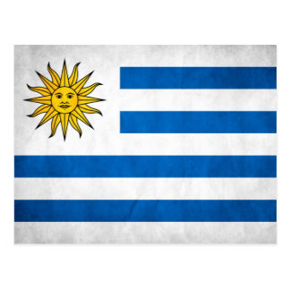 Uruguay National Flag Postcard