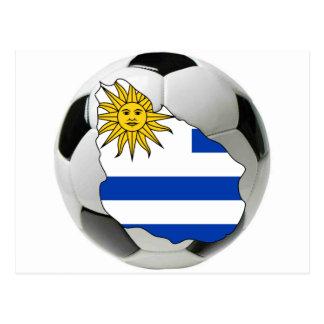 Uruguay national team postcard
