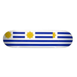 Uruguay (Oribe), United States flag Skate Board Deck