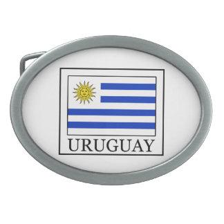 Uruguay Oval Belt Buckle