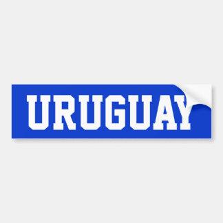 Uruguay Pegatina Para Auto