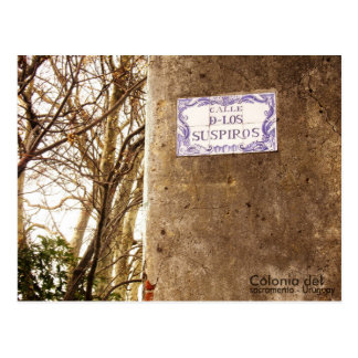 Uruguay postal postcard