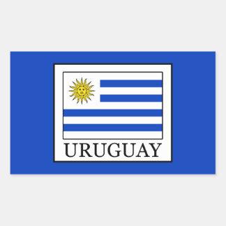 Uruguay Rectangular Sticker