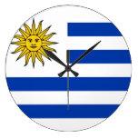 Uruguay Reloj De Pared
