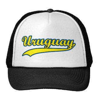 Uruguay retro gorros