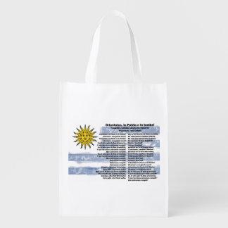 Uruguay Reusable Grocery Bag