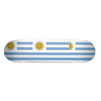 Uruguay (Rivera), Uruguay flag Skateboard Deck