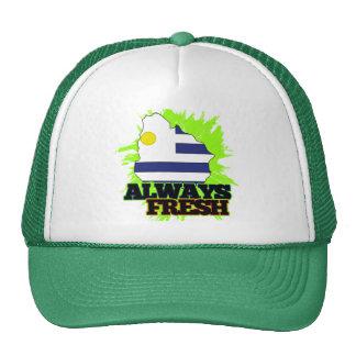 Uruguay siempre fresco gorras de camionero