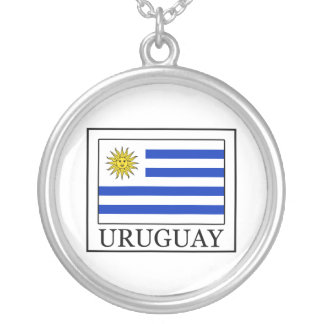Uruguay Silver Plated Necklace