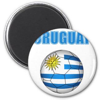 Uruguay Socccer 2010 T-shirts 2 Inch Round Magnet