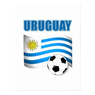 Uruguay Soccer 1904 Postcard