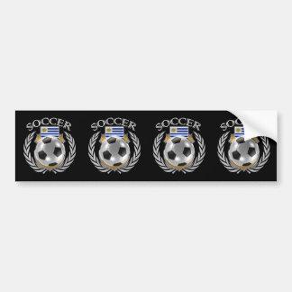 Uruguay Soccer 2016 Fan Gear Bumper Sticker