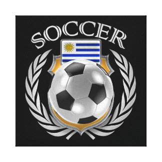 Uruguay Soccer 2016 Fan Gear Canvas Print
