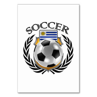 Uruguay Soccer 2016 Fan Gear Card