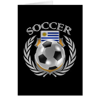 Uruguay Soccer 2016 Fan Gear Card