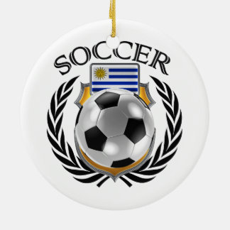 Uruguay Soccer 2016 Fan Gear Ceramic Ornament