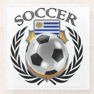 Uruguay Soccer 2016 Fan Gear Glass Coaster