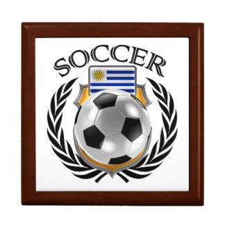 Uruguay Soccer 2016 Fan Gear Keepsake Box