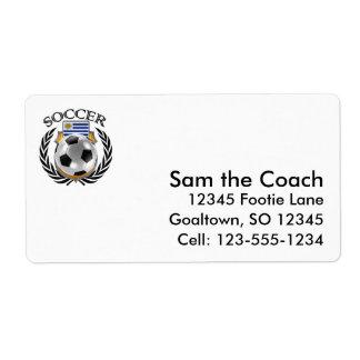 Uruguay Soccer 2016 Fan Gear Label