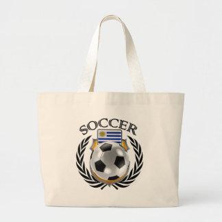 Uruguay Soccer 2016 Fan Gear Large Tote Bag