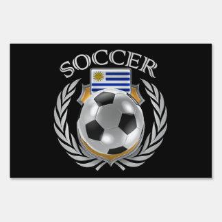 Uruguay Soccer 2016 Fan Gear Lawn Sign