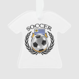 Uruguay Soccer 2016 Fan Gear Ornament