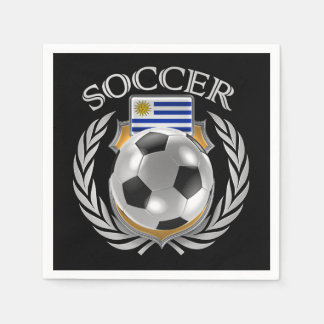 Uruguay Soccer 2016 Fan Gear Paper Napkin