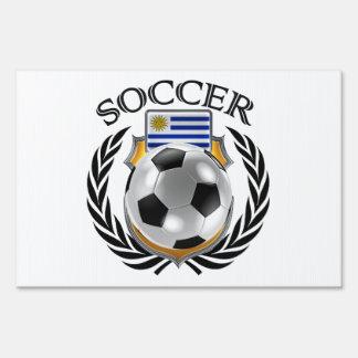 Uruguay Soccer 2016 Fan Gear Yard Sign