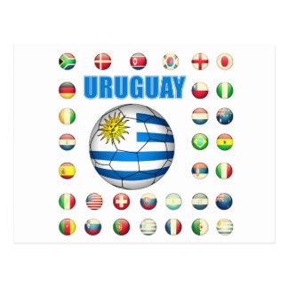 Uruguay Soccer 2213 Postcard