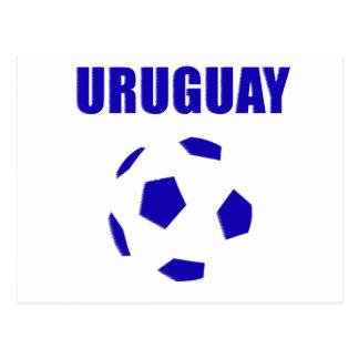 Uruguay Soccer 2913 Postcard
