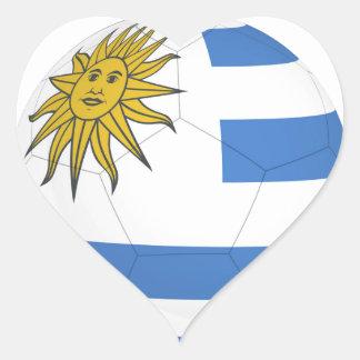 uruguay soccer ball.jpg heart sticker