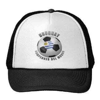 URUGUAY SOCCER CHAMPIONS TRUCKER HAT
