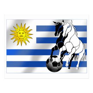 Uruguay soccer Charruas 2010 futbol fans gifts Postcard