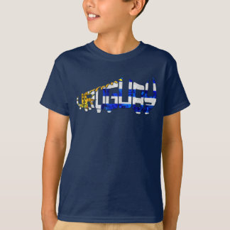 Uruguay Soccer Cleat Design T-Shirt