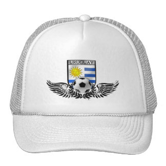 Uruguay soccer football emblem Uruguayan flag Trucker Hat