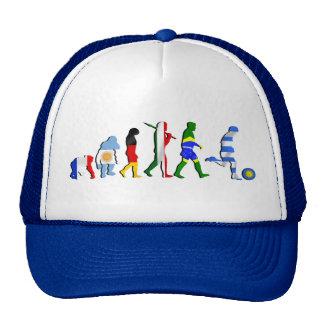 Uruguay soccer football Evolution futboll gifts Trucker Hat