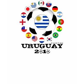 Uruguay Soccer T-Shirt World Cup Quarterfinals shirt