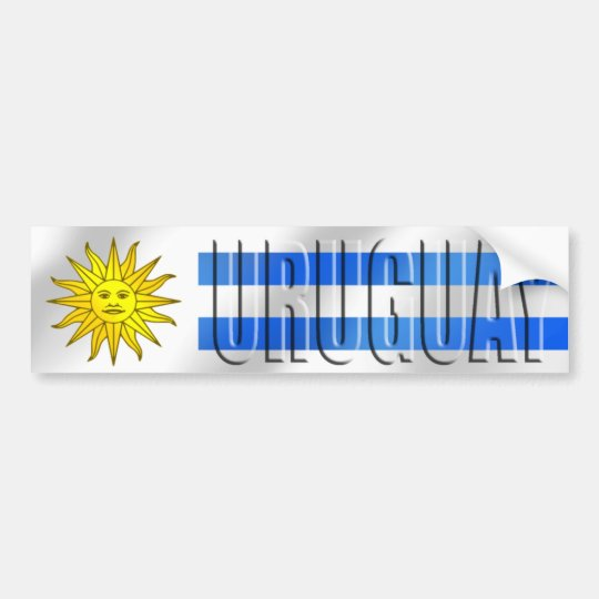 Uruguay Soccer T-shirts and gifts Bumper Sticker