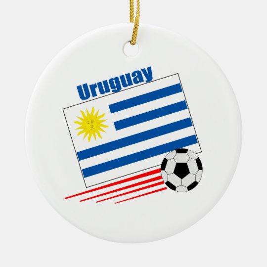 Uruguay Soccer Team Ceramic Ornament