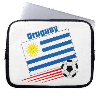 Uruguay Soccer Team Computer Sleeve