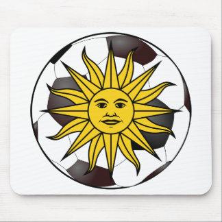 "Uruguay ""Sol de Mayo"" Mousepads"