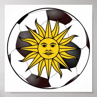 """Uruguay """"Sol de Mayo"""" Print"""