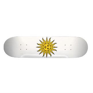 Uruguay Sol de Mayo Custom Skate Board