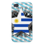 Uruguay Star Cases For iPhone 4