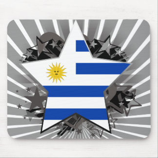 Uruguay Star Mouse Pad