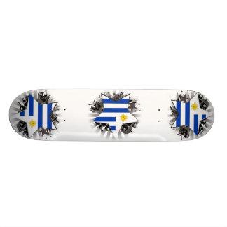 Uruguay Star Custom Skateboard